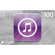 $100 iTunes Gift Card Apple TV USA iPad iPhone APP Code Emailed 100$