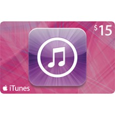 $15 iTunes Gift Card Apple TV USA iPad iPhone APP Code Emailed 15$