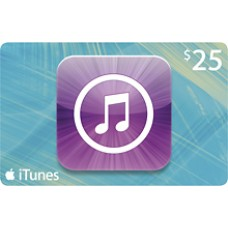 $25 iTunes Gift Card Apple TV USA iPad iPhone APP Code Emailed 25$