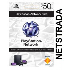 PSN$50 Sony Playstation Network $50 Gift card PS3 PSN PSP PS4 VITA code Emailed