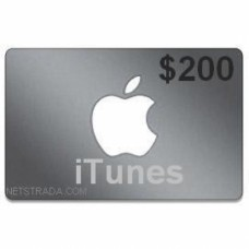 $200 iTunes Gift Card Apple TV USA iPad iPhone APP Code Emailed 200$
