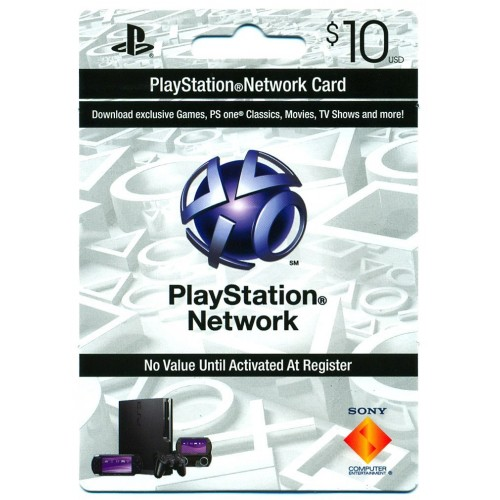 PSN$10 Sony Playstation Network $10 Gift card PS3 PSN PSP code Emailed