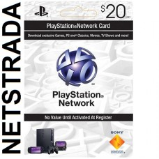 PSN$20 Sony Playstation Network $20 Gift card PS3 PS4 Vita PSN PSP code Emailed