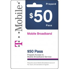 $50 Tmobile Prepaid Wireless Top Up AirTime Card USA Emailed Code WorldWide 50$
