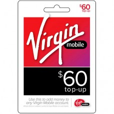 Virgin Mobile $60 Prepaid Phone refill top up card PIN reload service USA