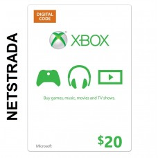 XBOX $20 LIVE GIFT CARD MICROSOFT POINTS MS CODE EMAILED WORLDWIDE 20$