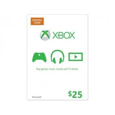 XBOX $25 LIVE GIFT CARD MICROSOFT POINTS MS VOUCHER CODE EMAILED WORLDWIDE